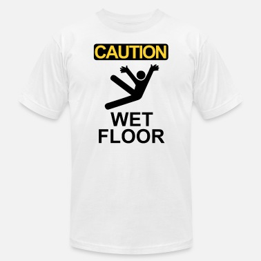 Caution Wet Caution wet floor - Men's Jersey T-Shirt