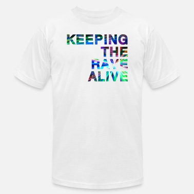 Dj Techno Keeping the rave alive - Men's  Jersey T-Shirt