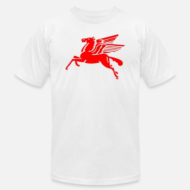 Flying flying Horse - Men's Jersey T-Shirt