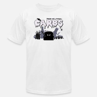 Carbs Anime Carbs are Evil - Men's  Jersey T-Shirt