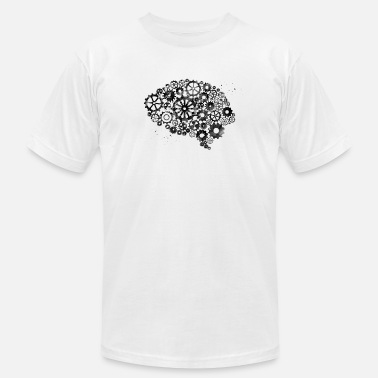 Mechanical Brain Brain Mechanism - Men's  Jersey T-Shirt