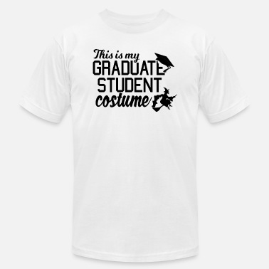 Grad Student This is My October Grad Student Costume - Unisex Jersey T-Shirt