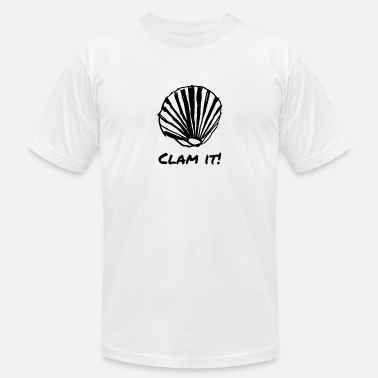 Clam Clam It - Men's Jersey T-Shirt