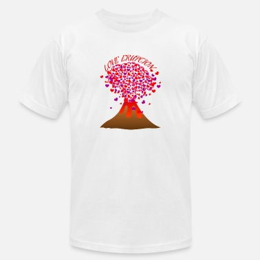 Eruption Love eruption - Unisex Jersey T-Shirt