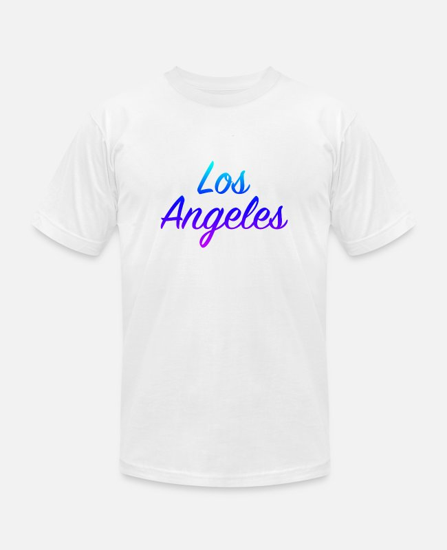 Design T-Shirts - Los Angeles - Unisex Jersey T-Shirt white