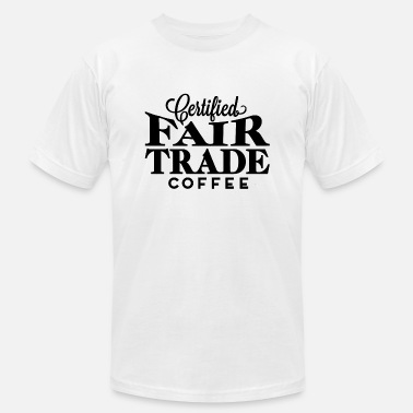 Trade Fair Pertified Fair Trade - Men's Jersey T-Shirt