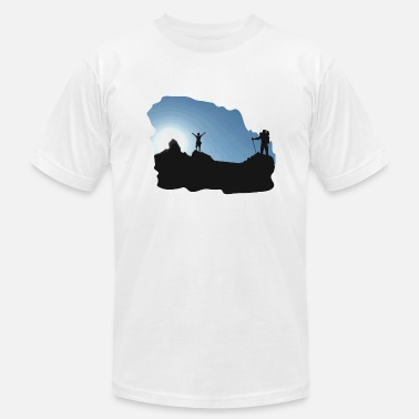 Hiking Trekking Hiking Hiking Trekking Tour - Men's  Jersey T-Shirt
