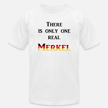 Cdu There is only one real Merkel - Men's  Jersey T-Shirt