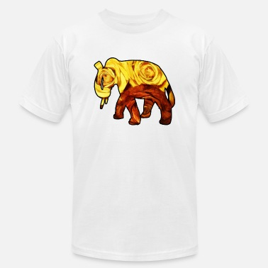 Hindustan Rose Elephant - Men's  Jersey T-Shirt