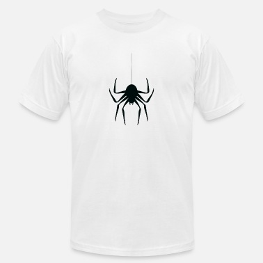 Threads For The Naked Spider hanging from thread - Unisex Jersey T-Shirt