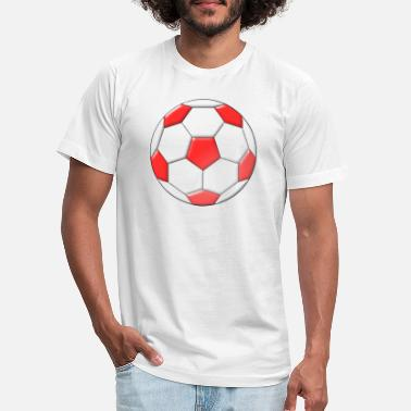 Inflated Oval Football - Unisex Jersey T-Shirt