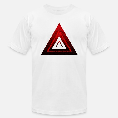 Ruby Rose Red Ruby Rose Pyramid - Men's  Jersey T-Shirt