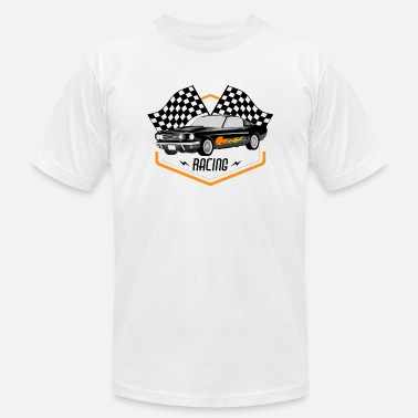60s Car Racing Hot Rod Racing Car / Gift Idea - Men's  Jersey T-Shirt