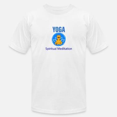 892e6d10 Yoga Spiritual Mediation - Men's Jersey T-Shirt