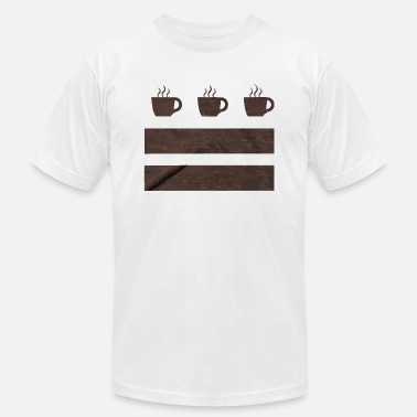 Coffee Flag - Men's Jersey T-Shirt