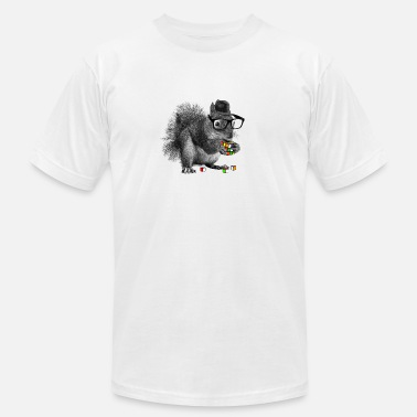 Rubik's squirrel - Unisex Jersey T-Shirt
