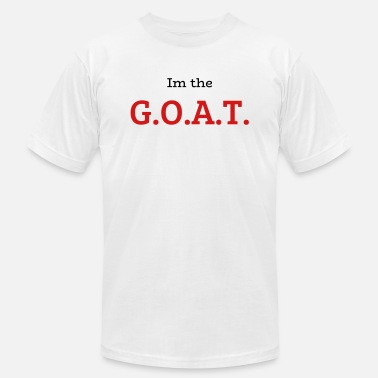 bd1fca1afab5 Michael Jordan Goat Im The G.O.A.T. - Men  39 s Jersey T-Shirt