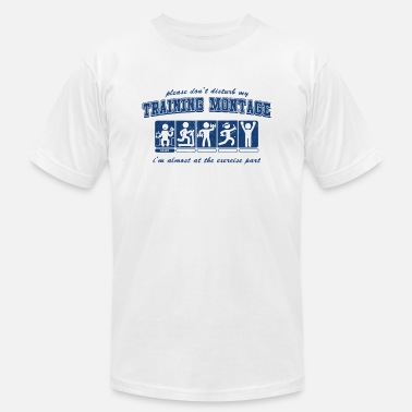 Montage Training Montage - Men's Jersey T-Shirt