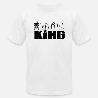 Grill God grill king of the grill - Men's  Jersey T-Shirt