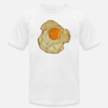 fried egg painting - Men's Jersey T-Shirt