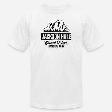 Hole Jackson Hole Grand Teton National Park TShirt Wyoming - Men's Jersey T-Shirt