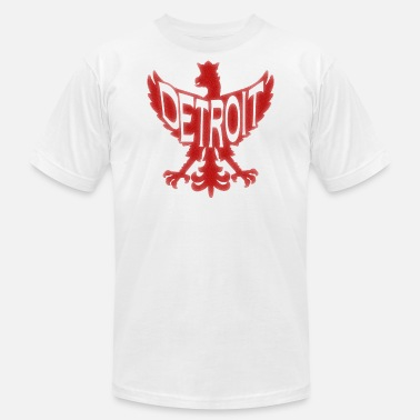 Womens Detroit Detroit Polish Poland Eagle - Unisex Jersey T-Shirt