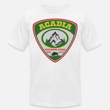1919 acadia 1919.png - Unisex Jersey T-Shirt