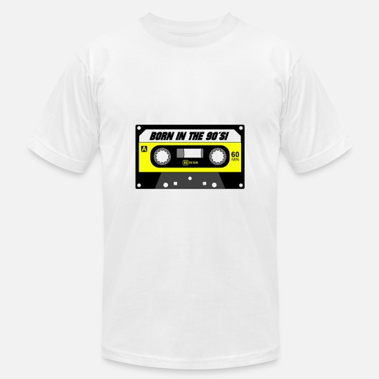 Gift Idea T-Shirts - Cassette - Men's Jersey T-Shirt white