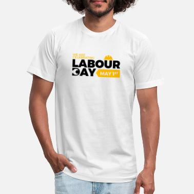Garden Happy Labour day 1st may - Unisex Jersey T-Shirt