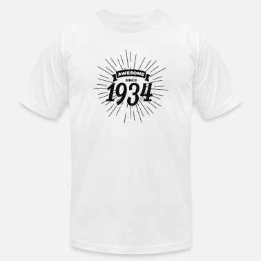 1934 Awesome since 1934 - Men's Jersey T-Shirt