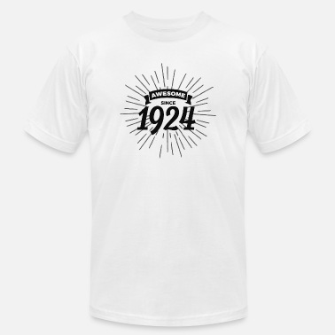 1924 Awesome since 1924 - Men's Jersey T-Shirt