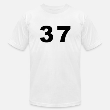 37 Number Number - 37 - Thirty Seven - Unisex Jersey T-Shirt