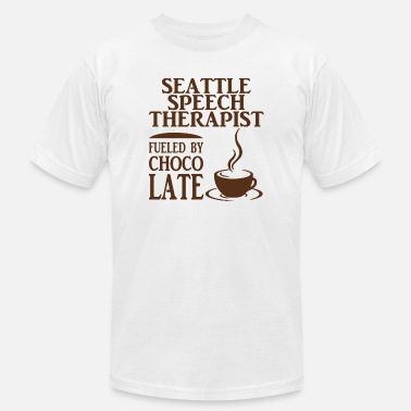 Charlie And The Chocolate Factory Chocolate - seattle speech therapist fueled by c - Men's  Jersey T-Shirt