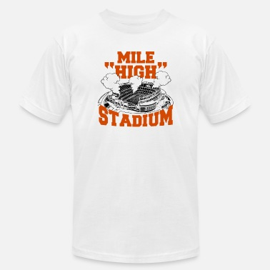 Denver Mile High Mile high - mile high stadium - Men's  Jersey T-Shirt