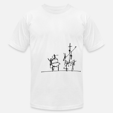 Illustration Don Quijote - Men's Jersey T-Shirt