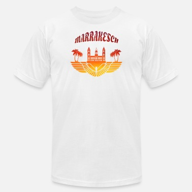 Marrakech Marrakech Palace with Palms / Gift North Africa - Men's  Jersey T-Shirt