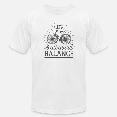 Balance Bike bike balance - Men's  Jersey T-Shirt