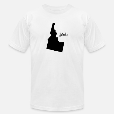 Funny Idaho Idaho - Men's  Jersey T-Shirt