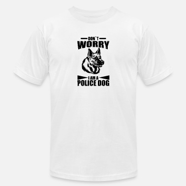 Police Sports police dog - Men's  Jersey T-Shirt