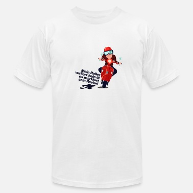 Scooter scooter driver - Men's  Jersey T-Shirt