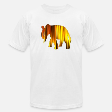 Digital Art Elephant digital Art - Men's Jersey T-Shirt