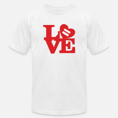 Love Is Equal Equality Love - Men's Jersey T-Shirt