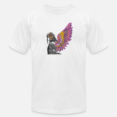 Angel Of Music Music angel T-shirt - Men's Jersey T-Shirt