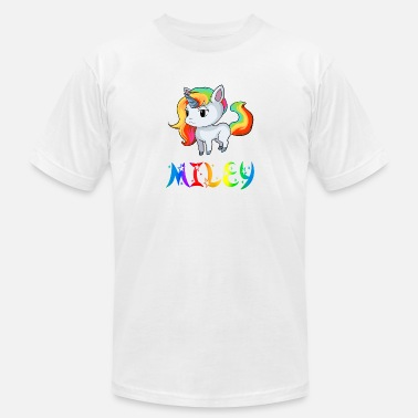 Miley Miley Unicorn - Men's Jersey T-Shirt