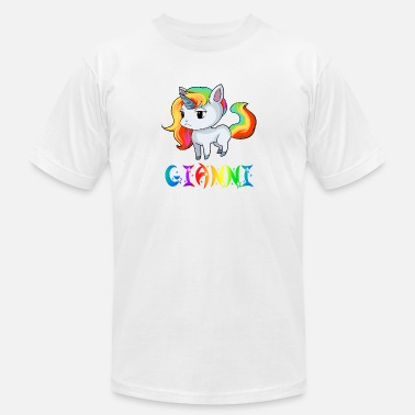 Giannis Gianni Unicorn - Men's  Jersey T-Shirt