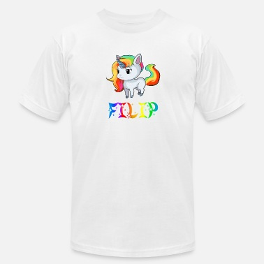 Filippa Filip Unicorn - Men's Jersey T-Shirt