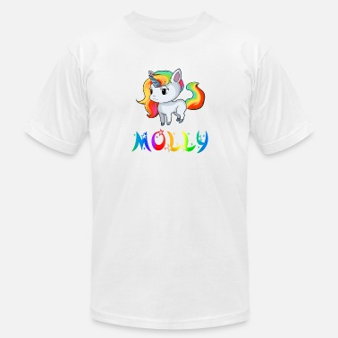 Molly Molly Unicorn - Unisex Jersey T-Shirt