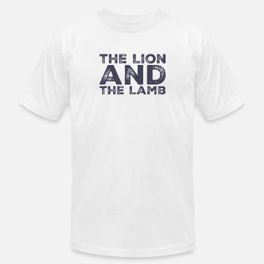 Lamb Lion and Lamb - Men's  Jersey T-Shirt