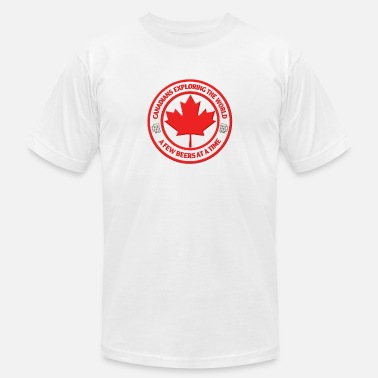 Canadian Roots Canadians - Men's  Jersey T-Shirt
