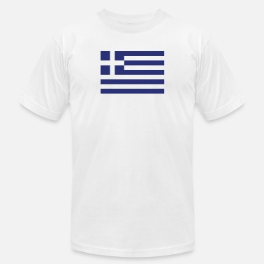 Greece Flag Flag of Greece Cool Greek Flag - Men's  Jersey T-Shirt